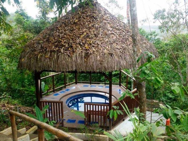 4 jours en retraite de yoga et cérémonie ayahuasca et du tabac à Olón, Équateur