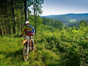 4 Days Enduro Heaven Guided Motorcycle Tour in Transylvania, Romania