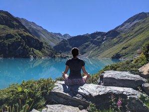 6 Tage Wandern und Yoga Urlaub in den Schweizer Alpen