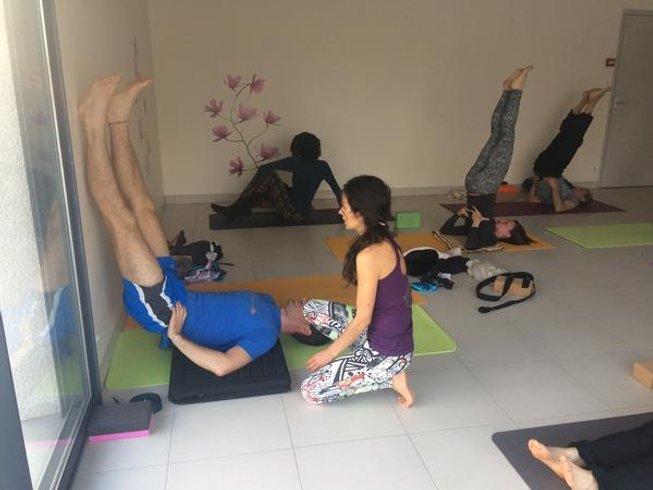 4 jours en stage de yoga, méditation, sophrologie et pranayama au nouvel an dans l'Aubrac, France