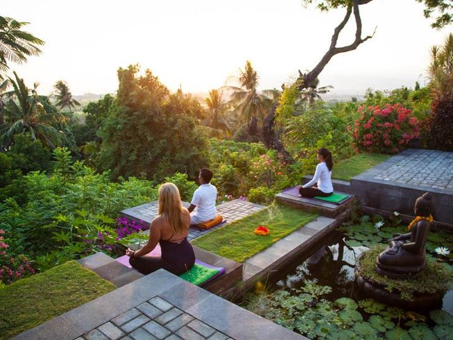 4 Days Nature Yoga Retreat in Ubud, Bali