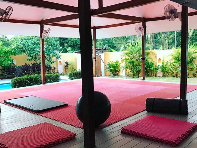 4 Weeks Intensive Multi-Martial Arts & Fitness Retreat Ko Samui Thailand
