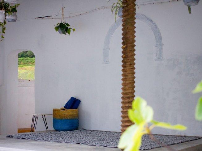 4 días retiro de yoga Iyengar en Columbeira, Portugal