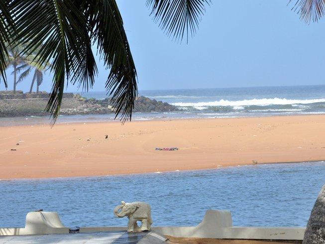 4 jours en stage de yoga et de méditation en solo dans le Kerala en Inde