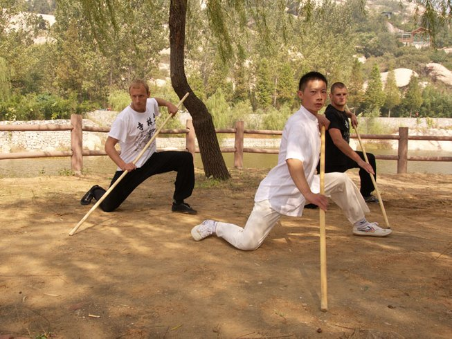 3 Years Authentic Kung Fu School in China at Tianmeng