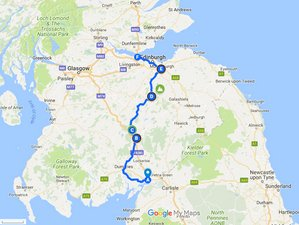 4 Days Coast to Coast Guided Bike Tour in Scotland, UK