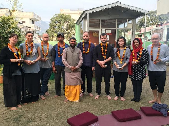 59-Daagse 500-urige Yoga Docententraining in Rishikesh, India