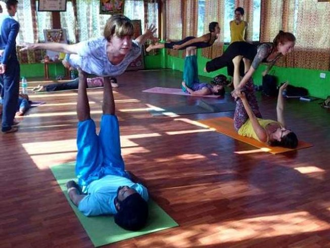 30 Days 300 Hours Advanced Yoga Teacher Training in Rishikesh