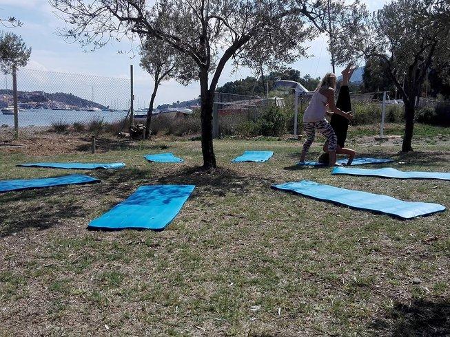 8-Daagse Yoga Vakantie aan Zee op Poros, Griekenland