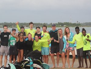 8 Days Great Kitesurfing Course in Margarita Village Kalpitiya, Sri Lanka
