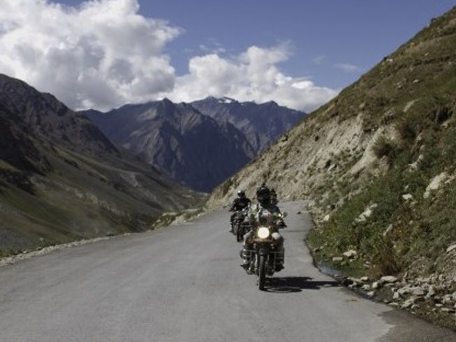 11 Days Indo-Tibet Mountains Motorcycle Tours India