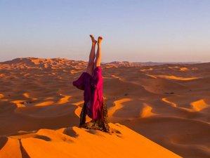 7 jours en stage de yoga et voix créative dans le désert du Sahara, Maroc