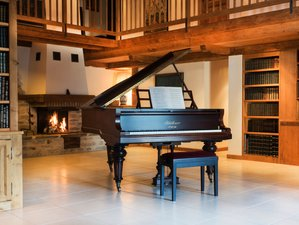 8 Days Live Piano Skiing and Yoga Retreat in France