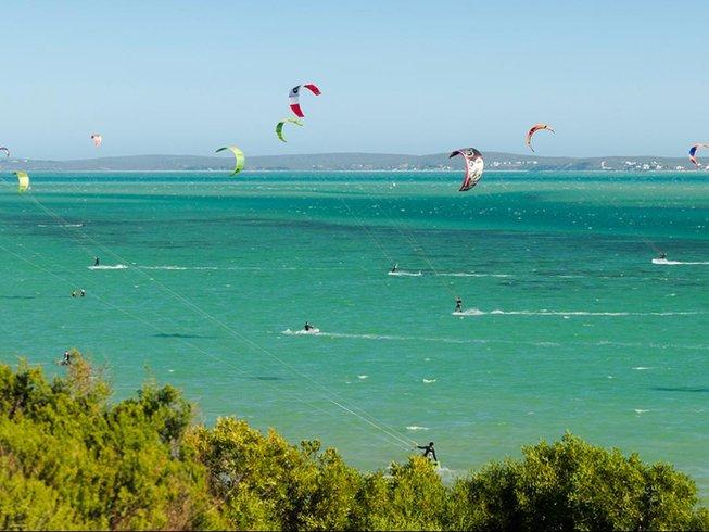 4 Days Private Kitesurfing Holidays in Langebaan, Western Cape, South Africa