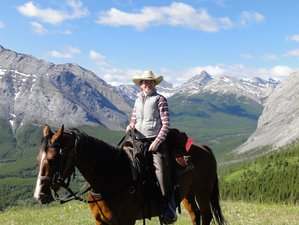 6 Days Cascade Valley Camping Horse Riding Holiday in Banff, Canada