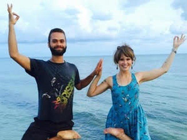 16 jours en retraite de yoga, méditation, detox et guérison sacrée en Algarve, Portugal