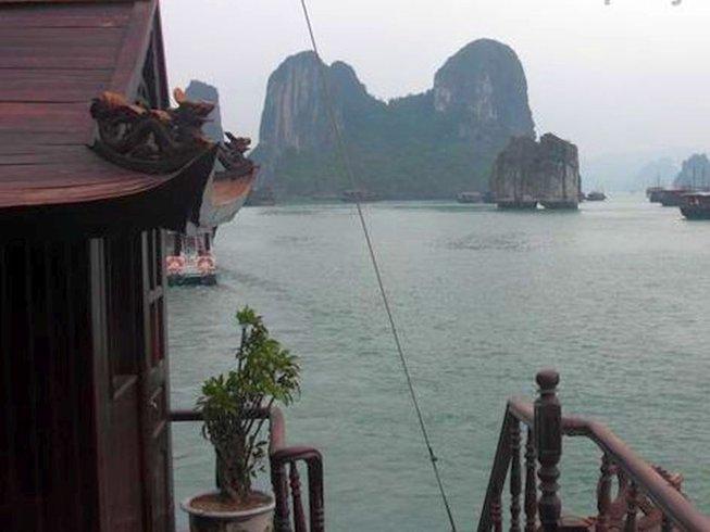 14 Days Yoga Adventure in Halong Bay, Vietnam