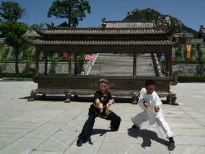 9 Month Learning Kung Fu in Weihai, Shandong
