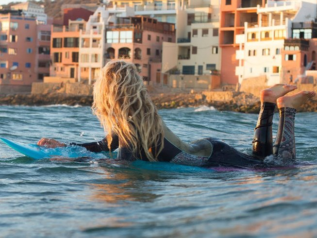 8 Days Guided Surf Camp in Tamraght, Morocco