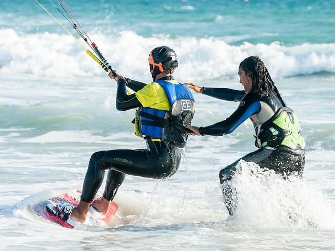 kitesurfing camp