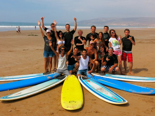 7 Days Agadir Surf and Yoga Retreat Morocco