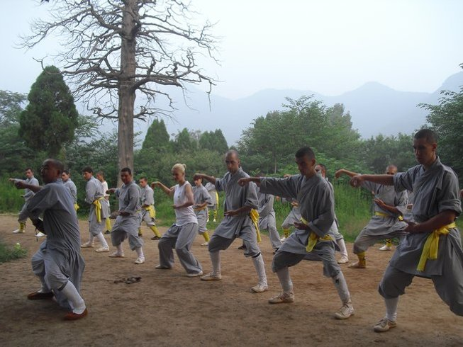 6 Months Shaolin Kung Fu Training in China