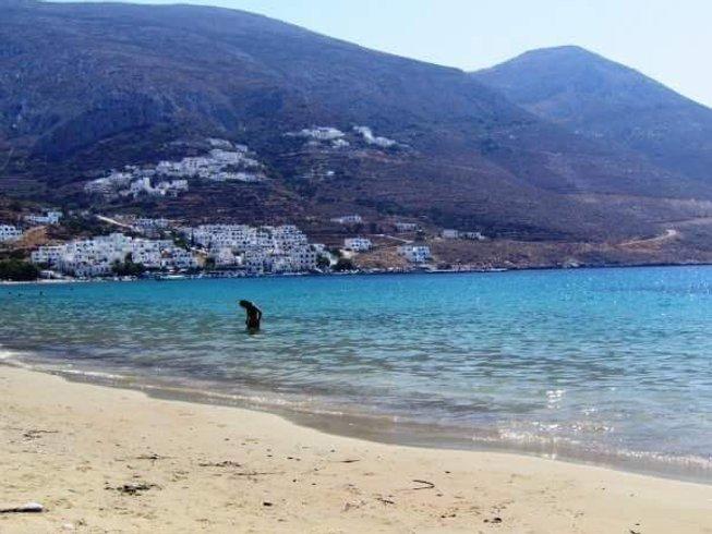 7 Tage Erfrischende Massage und Yoga Urlaub auf Amorgos, Griechenland