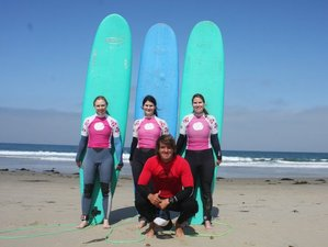 7 Days Women's Surf and Yoga Retreat San Diego