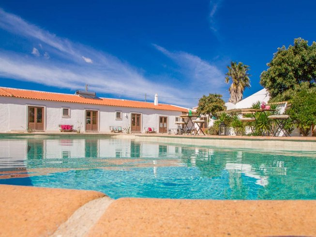 8 Days Yoga and Surf Camp in Sargacal, Lagos, Portugal