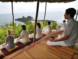 15 Days Meditation and Yoga Holiday in Gokarna, India