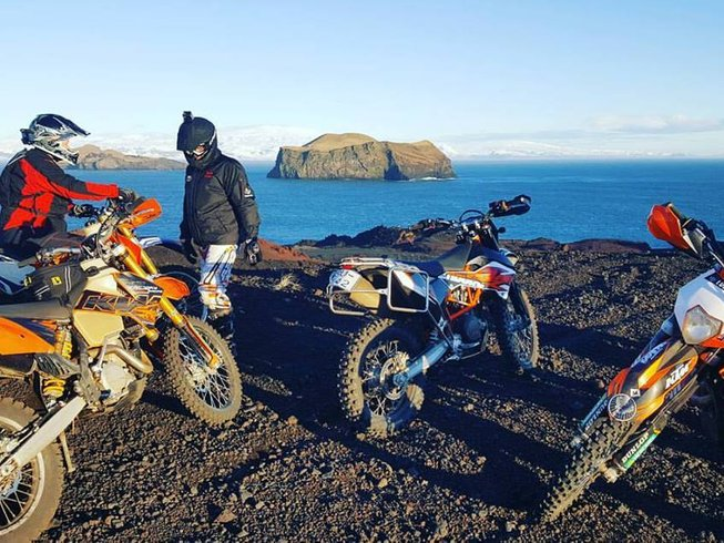 7 Days Adventure Motorcycle Tour in Iceland