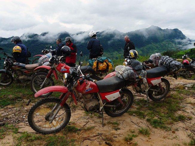 9 Days Adventurous Vietnam Motorbike Tour from Hanoi to Halong Bay