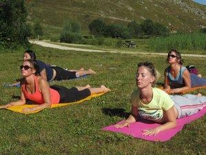 4 jours en stage de yoga, randonnée et massage en Auvergne, France