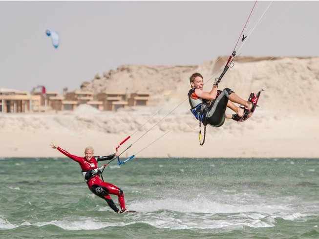 8 Days Intermediate Kitesurfing Surf Camp Morocco