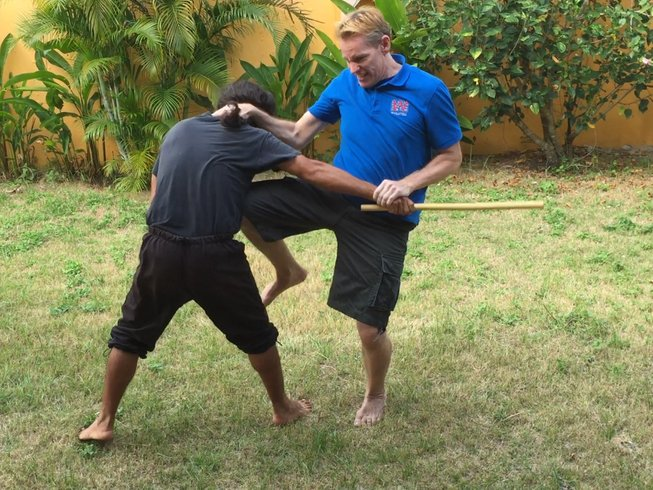 4 Weeks Private Group Martial Arts and Fitness Training Thailand