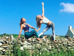 8 Days Yoga Retreat in Cliffs of Moher, Ireland.