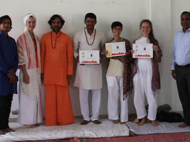 30 Days 200-Hour Yoga Teacher Training in India