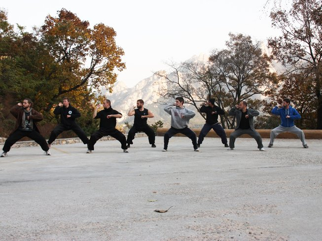 3 Months Learn Kung Fu, Qi Gong, Tai Chi in China