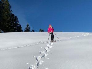 2 Tage Yoga Urlaub und Schneeschuhwandern in einem Exklusiven Berghaus in Bayern