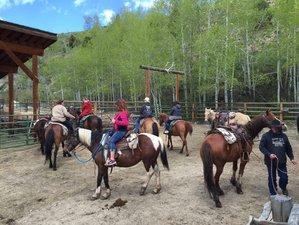 5 Day Horseback Riding Pack Trip in the Bridger-Teton Wilderness, Pinedale, Wyoming