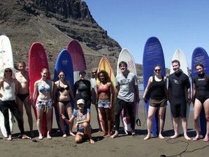 8 Day Orca Package for Advanced Level Surf Camp in Gran Canaria