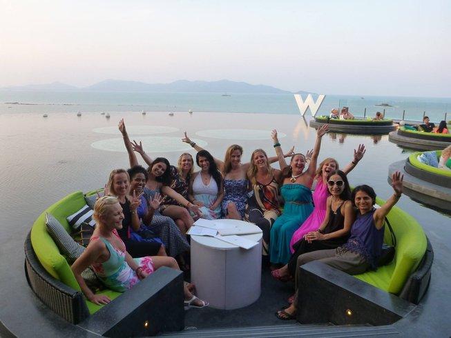 8 ours en stage de hot yoga de luxe et atelier de nutrition à Pâques à Koh Samui, Thaïlande