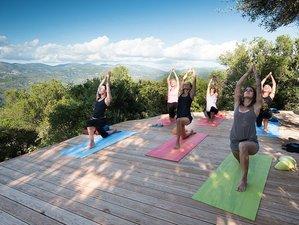 8 Tage Ayurveda, Meditation und Yoga Retreat auf einem Plateau im Wald in Griechenland