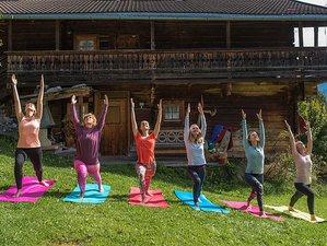 4 Tage Yoga Retreat mit Schreibwerkstatt Mittersill auf der Hoizalm, Österreich