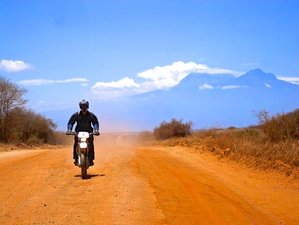 8 Days Off-Road Guided Motorcycle Tour and Safari in Kenya