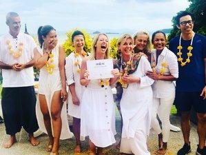 26 Days 200-Hour Yoga Alliance Registered Teacher Training in Koh Samui Thailand