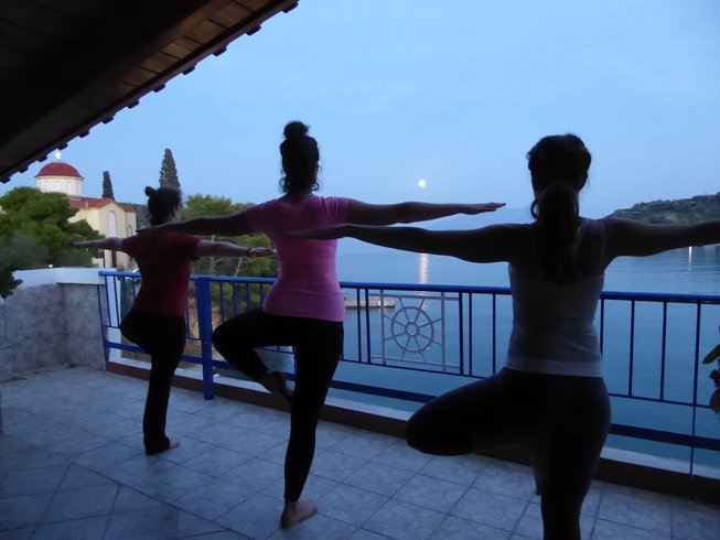 8 Tage Yoga Urlaub in Griechenland