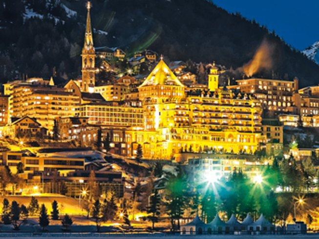 7 Days Yoga Skiing Retreat in St. Moritz, Switzerland