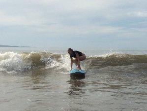 7 Tage erfrischender Yoga-Urlaub mit Surfcamp, Playa Reina, Panama