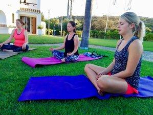 """5 Tage Private Wanderung und Yoga Retreat """"Feuer und Liebe"""" mit Judith in Spanien"""